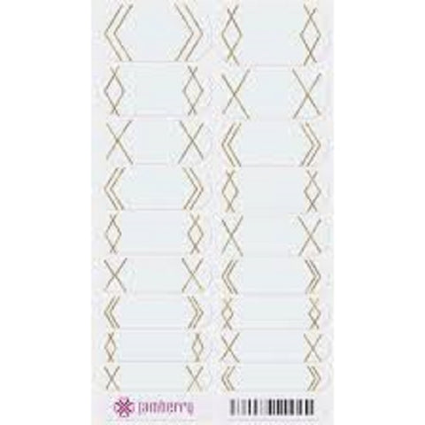 Jamberry Nail Wraps Gatsby Full Sheet