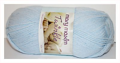 Mary Maxim Twinkle Blue Single Skein