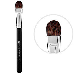 BareMinerals Full Tapered Shadow Brush Black Handle