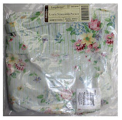 Longaberger Fabric Large Scalloped Pocket Liner Small Mixed Bouquet