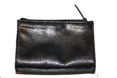 Bare Escentuals Metallic Dark Silver Zippered Make-Up Case Bag