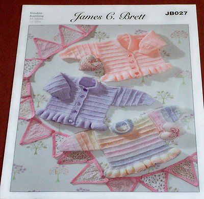 James C Brett Cardigans and Sweaters Pattern JB027