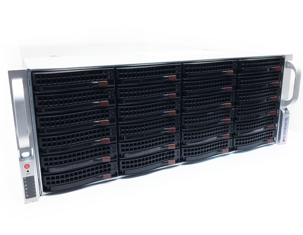 Supermicro 4U Storage Server 24-Bay X9DRi-LN4F+