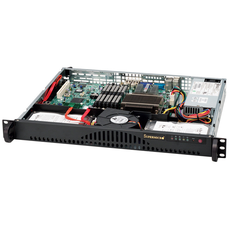Supermicro 2U 12 bay X9DRI-LN4F+ Storage server