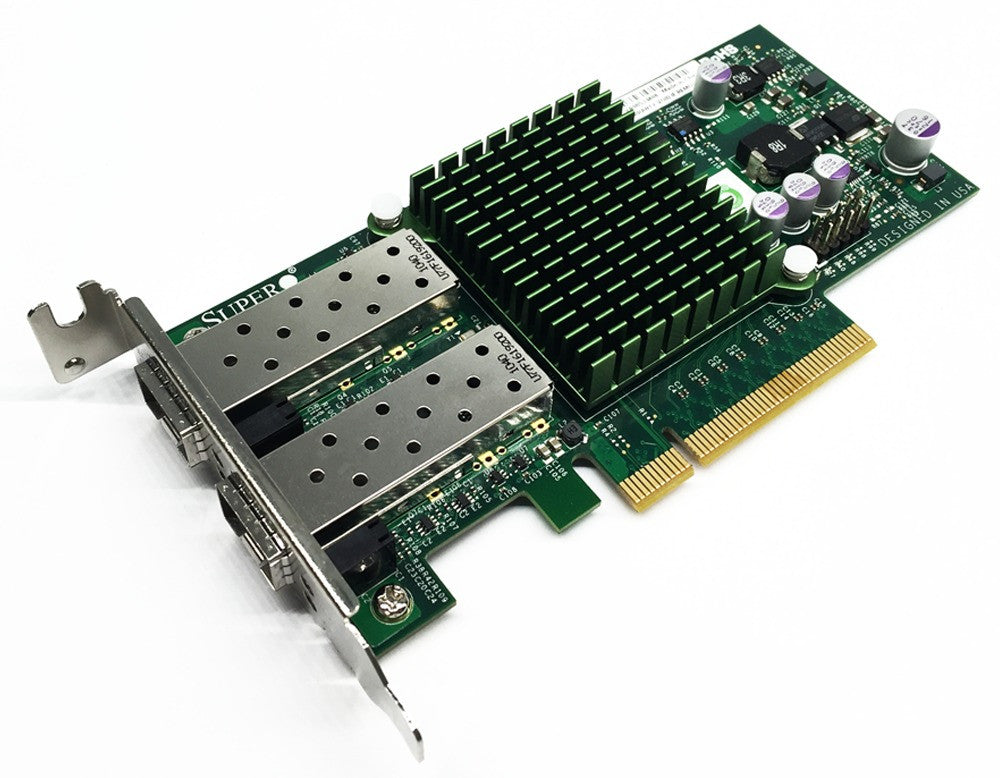 Supermicro AOC-STGN-I2S Dual Port 10gb 10Gbe 10 Gigabit Ethernet Adapter HBA