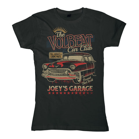 Volbeat The Car Club Women's Tee