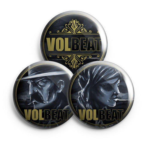 Outlaw Gentlemen & Shady Ladies Button Set