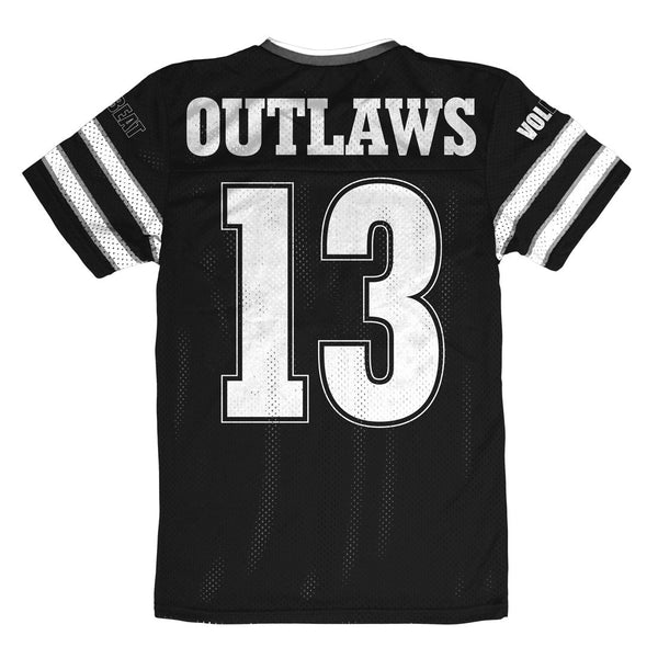 Outlaws Mesh Jersey Back