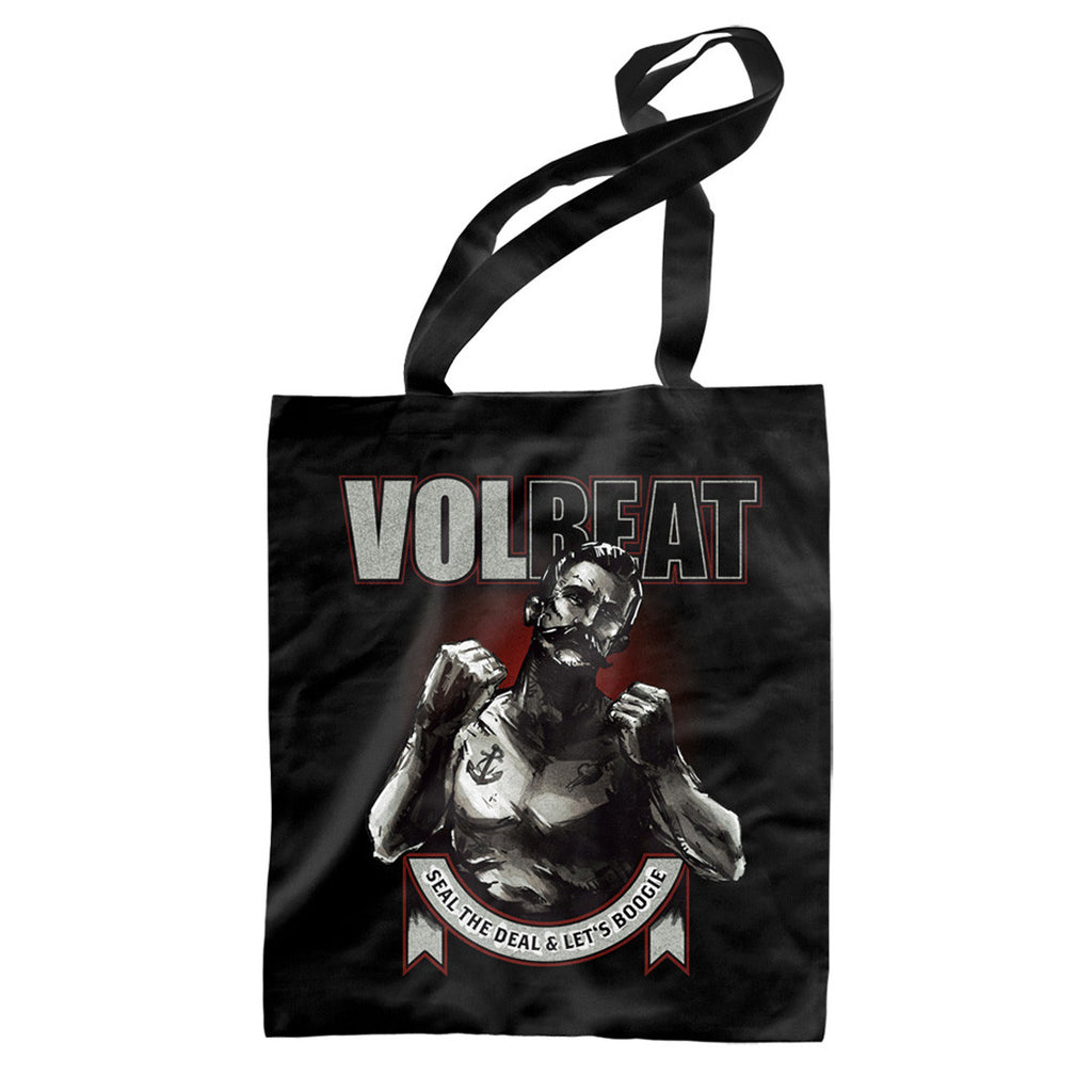 Seal The Deal & Let's Boogie Boxer Tote