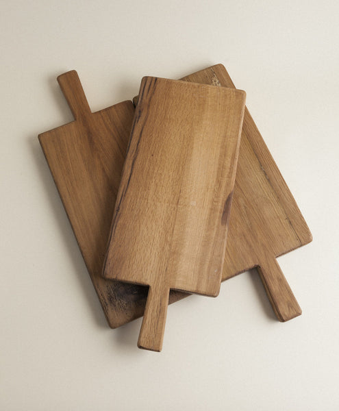 Casale Recycled Wood Single Handle Cutting Board
