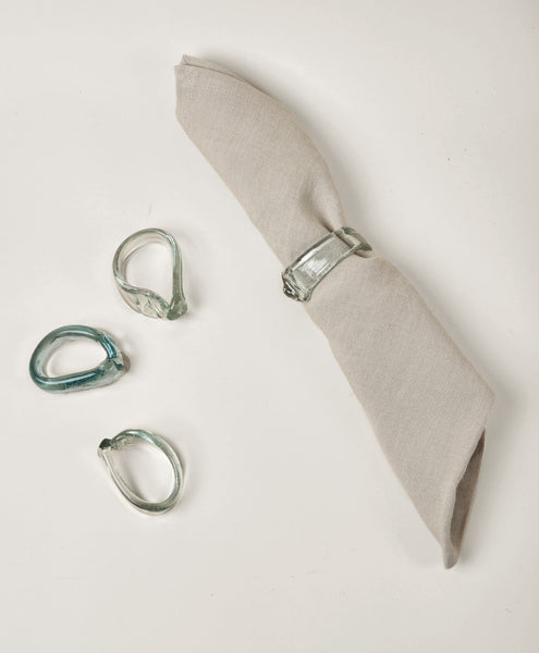 Recycled Glass Napkin Ring