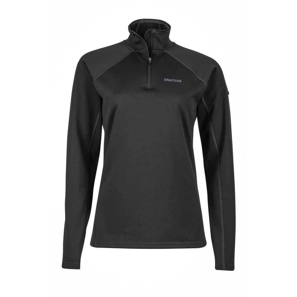 Women's Stretch Fleece 1/2 Zip Long Sleeve Shirt by Marmot - Adventure Outlet - New Zealand