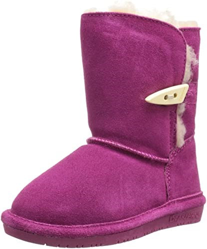 Kid's Abigail Sheepskin Boot by Bearpaw - Adventure Outlet - New Zealand