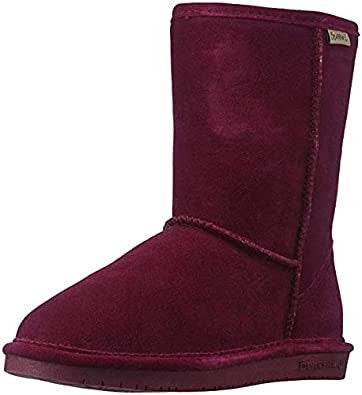 Women's Emma Short Sheepskin Boot by Bearpaw - Adventure Outlet - New Zealand