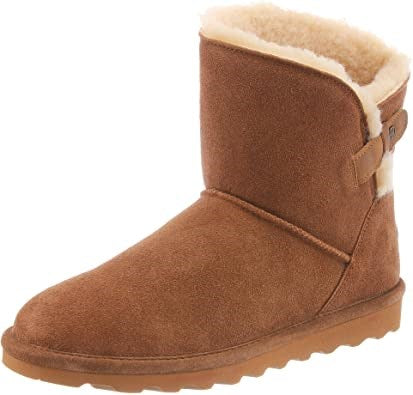 Women's Margaery Sheepskin Boot by Bearpaw - Adventure Outlet - New Zealand