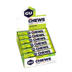 Gu Chews (Box of 18 Double Serves) Expired