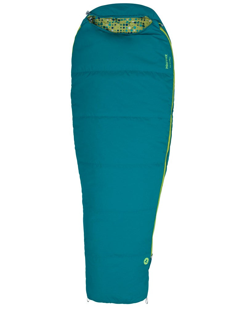 Kid's Nanowave 40 Synthetic Sleeping Bag (4 degC) by Marmot - Adventure Outlet - New Zealand