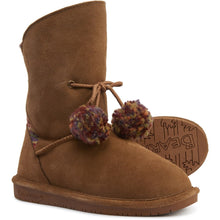 Load image into Gallery viewer, Kid's Olivia Sheepskin Boot by Bearpaw - Adventure Outlet - New Zealand