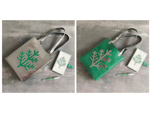 Kit tote bag branche de sapin