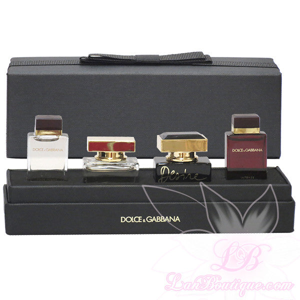 00304ccf71dca D G 4pcs mini set  Intense, The One, Desire, Pour Femme – Lan Boutique