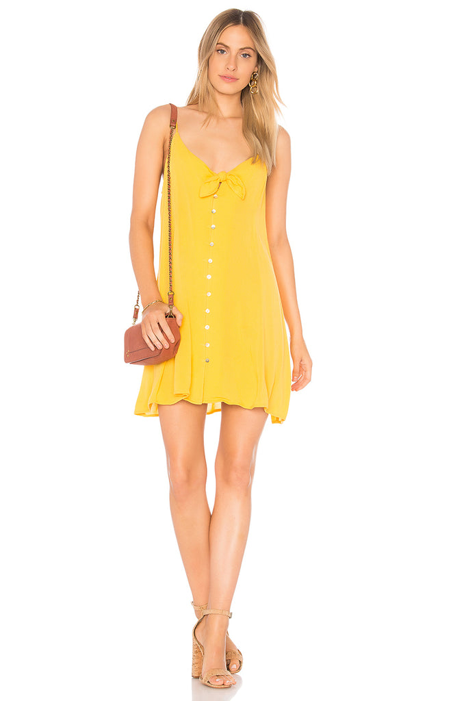 THE SUNSHINE TIE DRESS