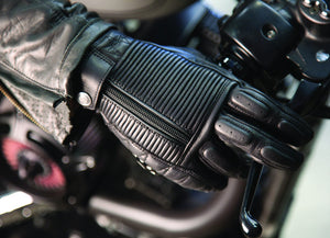Roland Sands design Dezel Gloves in Black
