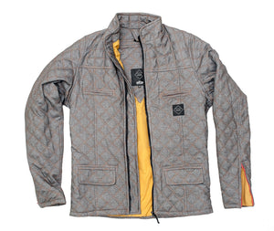 Crave Duke Quilted kevlar lined motorcycle jacket