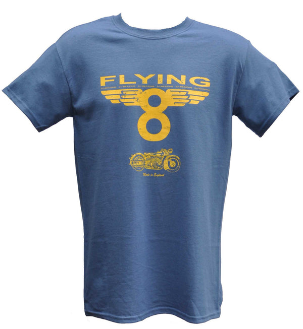 Oily Rag Clothing Flying 8 retro motorcycle T'shirt