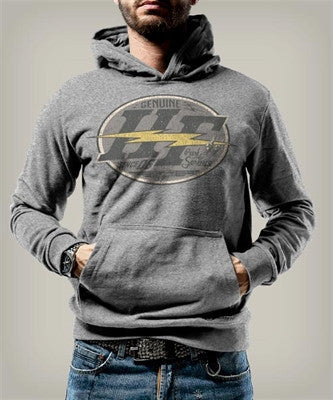 Holy Freedom Shining Grey Custom Motorcycle Wind Stopper Hoodie Sweatshirt