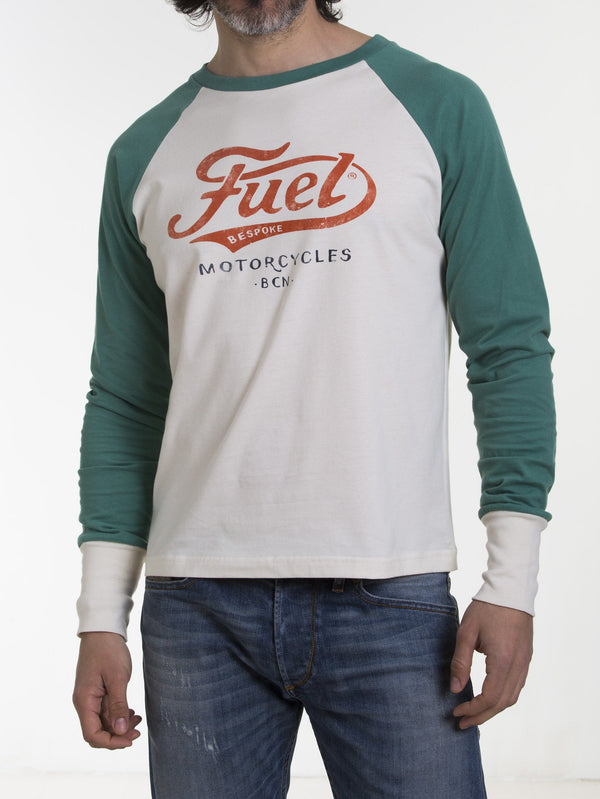Fuel Motorcycles Logo long sleeve shirt