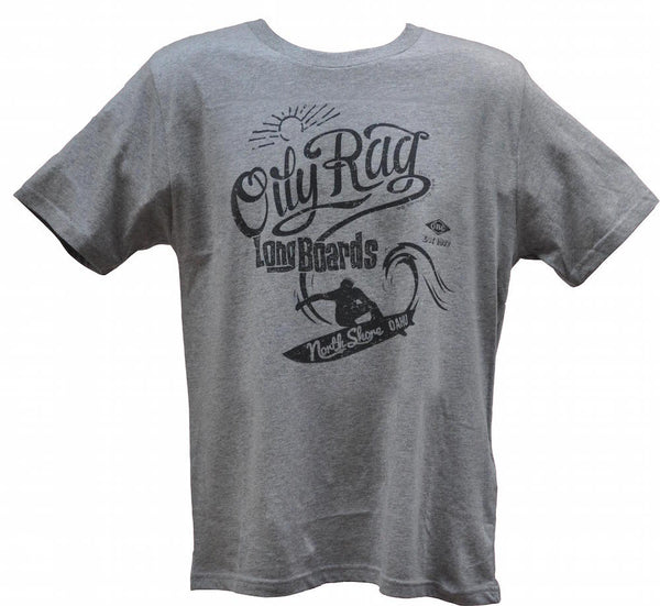 Oily Rag Clothing Long Boards retro surfer T'shirt