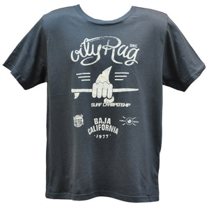 Oily Rag Clothing Surf Competition retro surfer T'shirt