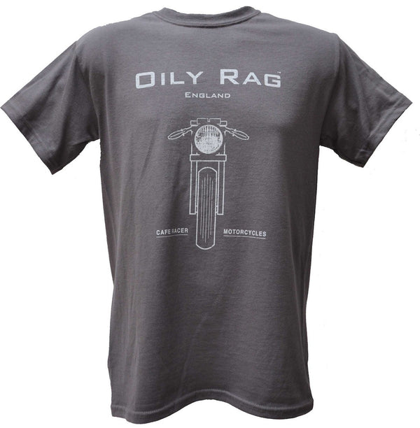 Oily Rag Clothing Cafe Racer retro motorcycle T'shirt