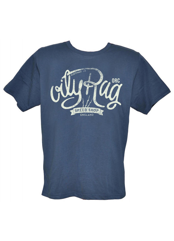 Oily Rag Clothing Speed Shop retro T'shirt