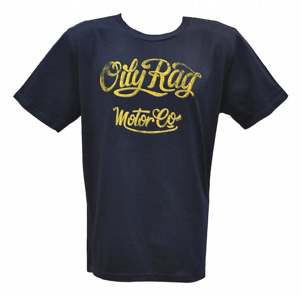 Oily Rag Clothing Motor Co dark blue T'Shirt