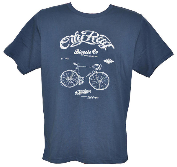 Oily Rag Clothing Bicycle Club retro T'shirt