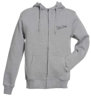 Oily Rag Clothing High Neck Zip-up hoodie