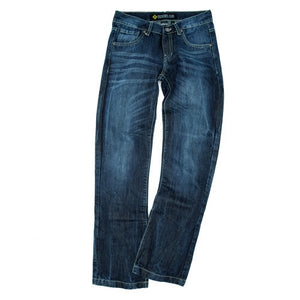 Ladies Ultralite motorbike jeans, safer alternative to Kevlar jeans