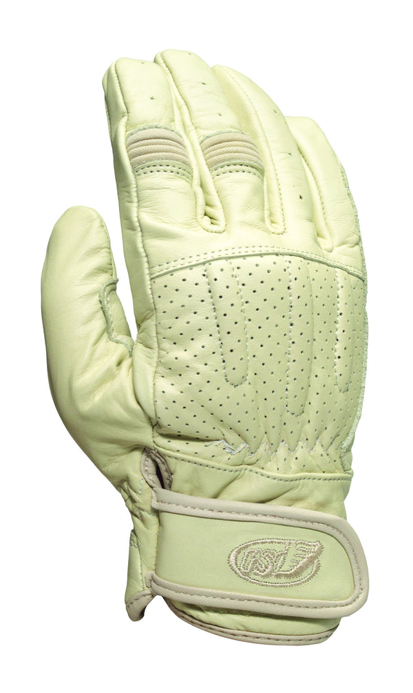 Roland Sands design Barfly Gloves in Sand