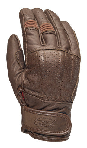 Roland Sands Design Barfly Gloves Tobacco