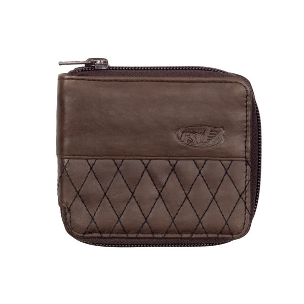 Roland Sands Design Crenshaw Wallet in Tobacco