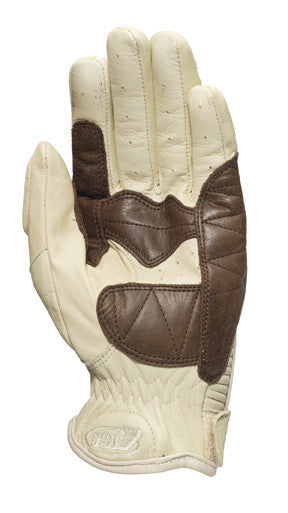 Roland Sands design Dezel Gloves in Sand