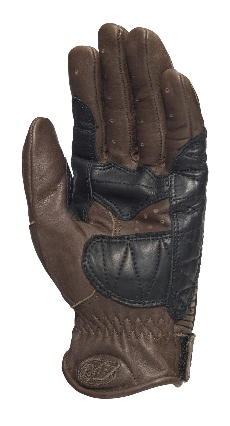 Roland Sands design Dezel Gloves in Tobacco