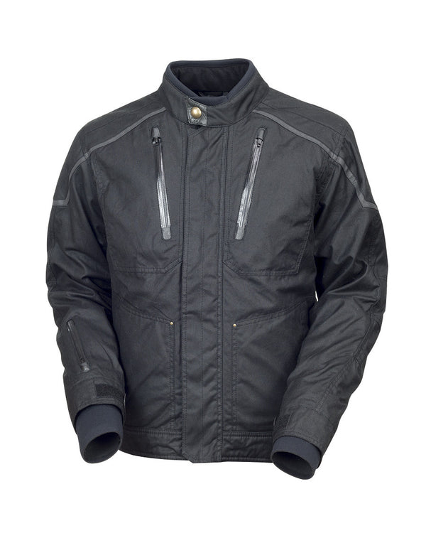 Roland Sands Design Edwards Textile motorcycle jacket Black