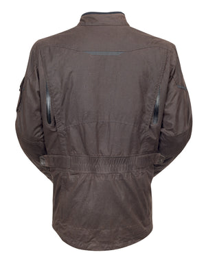 Roland Sands Design Houston Textile motorcycle jacket Brown