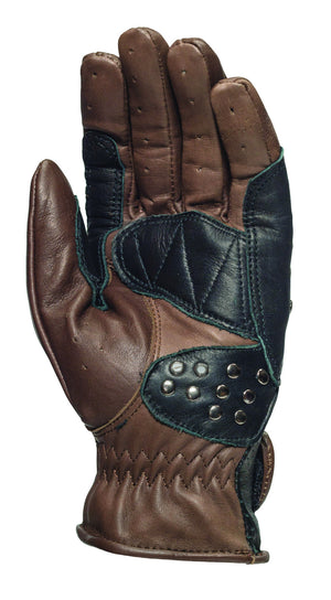 Roland Sands design Mission Gloves in Tobacco
