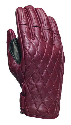 Roland Sands design Riot Gloves in Oxblood