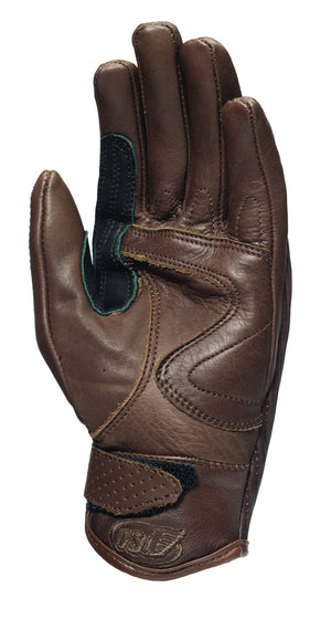 Roland Sands design Riot Gloves in Tobacco