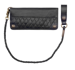 Roland Sands Design Wilmington Wallet in Black