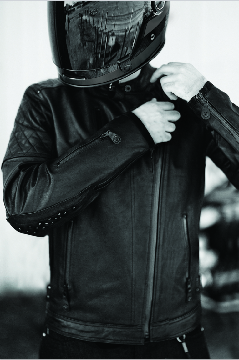Roland Sands Design Clash Black Ops Leather Jacket